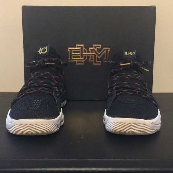 Nike Shoes - Nike KD10. BHM Color-way (Limited Sneaker).